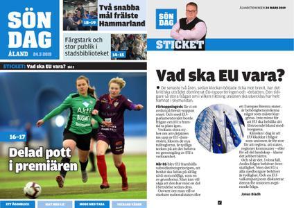 Ålandstidningen – 24 mars 2019