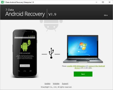 7-Data Android Recovery Enterprise 1.9 Multilingual + Portable
