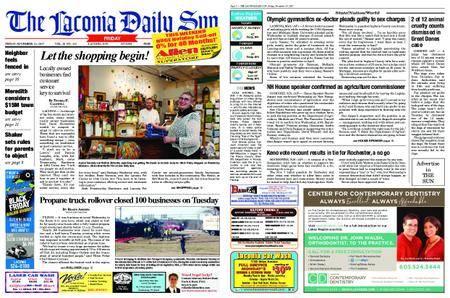 The Laconia Daily Sun – November 23, 2017