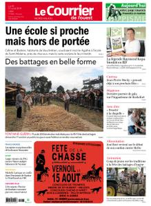 Le Courrier de l'Ouest Nord Anjou – 12 août 2019