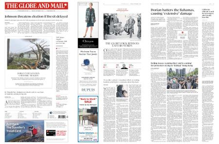 The Globe and Mail – September 03, 2019