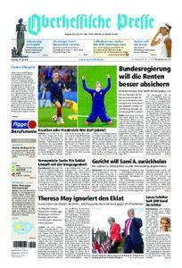 Oberhessische Presse Marburg/Ostkreis - 14. Juli 2018