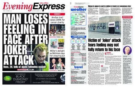 Evening Express – November 24, 2017