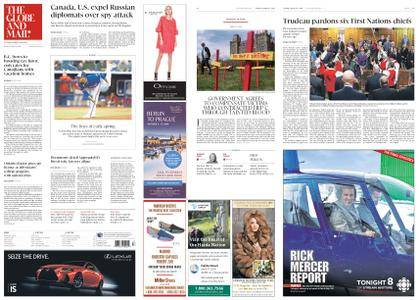The Globe and Mail – March 27, 2018
