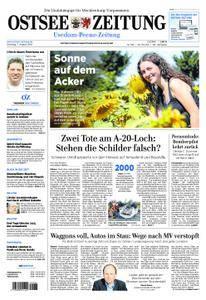 Ostsee Zeitung Wolgast - 07. August 2018