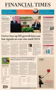 Financial Times Europe - March 18, 2021