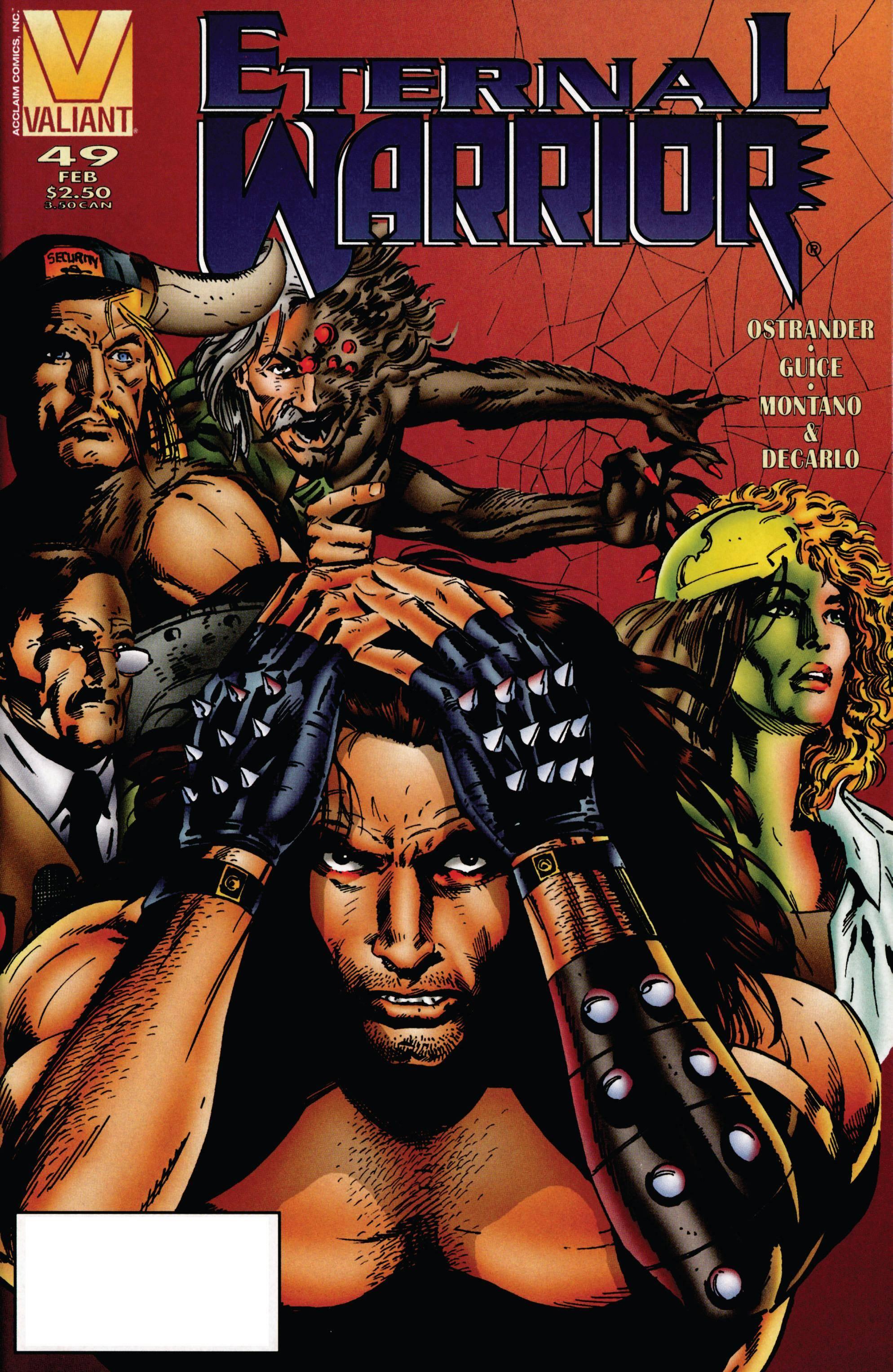 Eternal Warrior 49 1996 digital