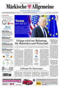 Märkische Allgemeine Luckenwalder Rundschau - 24. März 2018