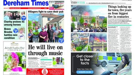 Dereham Times – May 30, 2019