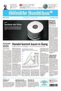 Kölnische Rundschau Wipperfürth/Lindlar – 27. April 2020