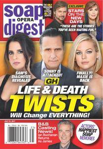 Soap Opera Digest - July 31, 2017