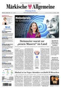 Märkische Allgemeine Fläming Echo - 04. Oktober 2017