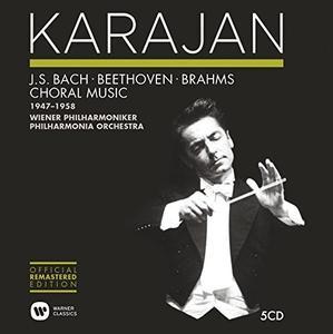 Herbert Von Karajan - Bach, Beethoven, Brahms: Choral Music 1947-1958 (2014) (5 CDs Box Set)