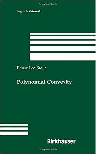 Polynomial Convexity: Preliminary {Repost}