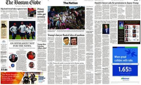 The Boston Globe – March 29, 2018