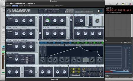 adsrsounds - EFX sound design With NI Massive – Create Uplifters, Downlifters, Impacts and Sweeps!