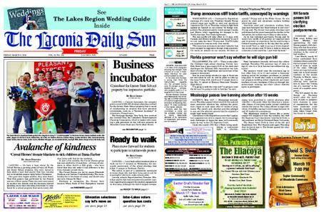 The Laconia Daily Sun – March 09, 2018