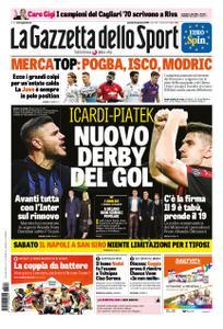 La Gazzetta dello Sport – 24 gennaio 2019