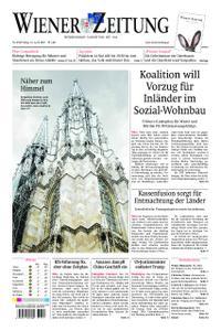 Wiener Zeitung – 19. April 2019