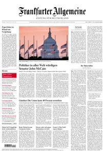 Frankfurter Allgemeine Zeitung F.A.Z. - 27. August 2018