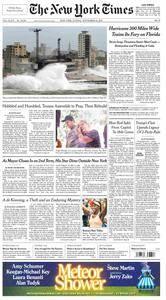 The New York Times  September 10 2017