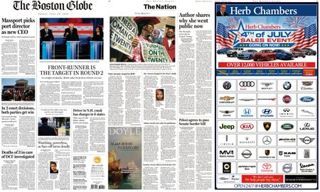 The Boston Globe – June 28, 2019