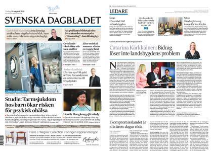 Svenska Dagbladet – 20 augusti 2019