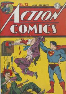 Action Comics 73 (DC) (1944-06) (c2c) (A.S.S.)