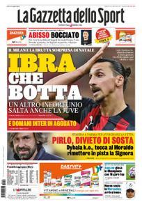 La Gazzetta dello Sport Roma – 19 dicembre 2020