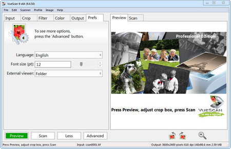 VueScan Pro 9.6.47 Multilingual Portable