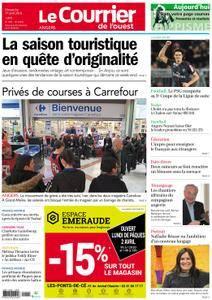 Le Courrier de l'Ouest Angers - 01 avril 2018