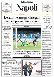 la Repubblica Napoli - 13 Luglio 2020