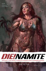 DIE!namite 001 2020 5 covers Digital DR & Quinch