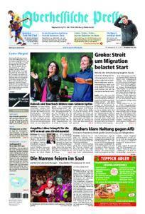 Oberhessische Presse Marburg/Ostkreis - 29. Januar 2018