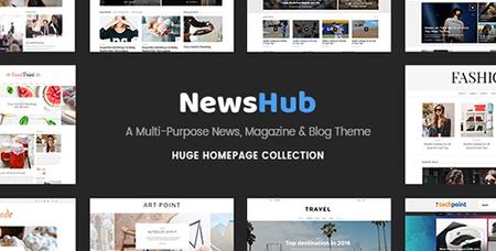 ThemeForest - Newshub v1.1 - A Multi-Purpose News, Magazine & Blog Theme - 17809471