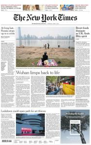 International New York Times - 9 April 2020