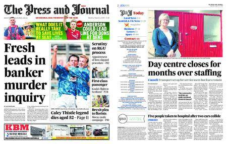 The Press and Journal Moray – August 11, 2018
