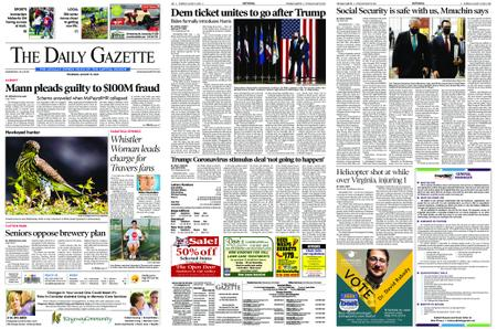 The Daily Gazette – August 13, 2020