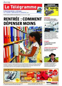 Le Télégramme Auray – 22 août 2019