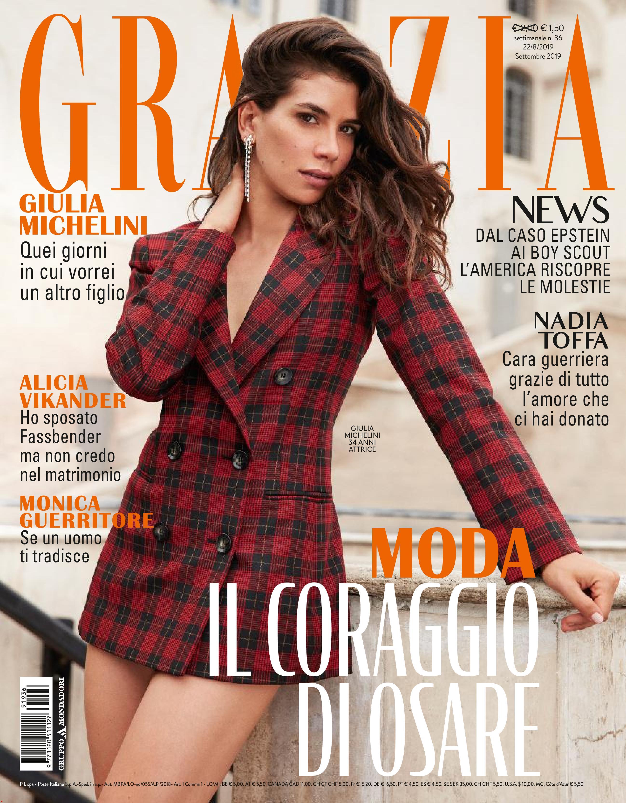 Grazia Italia N.36 - 22 Agosto 2019