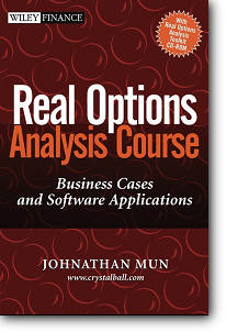 Johnathan Mun, «Real Options Analysis Course : Business Cases and Software Applications»
