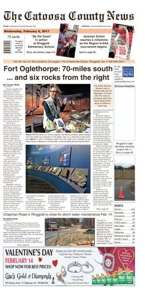 The Catoosa County News - February 8, 2017