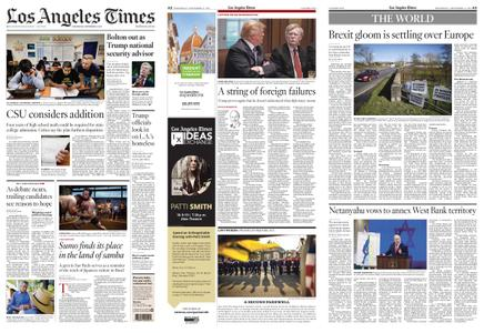 Los Angeles Times – September 11, 2019