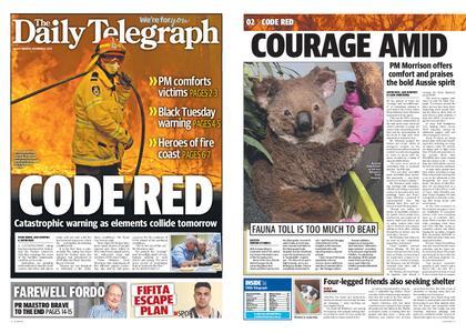 The Daily Telegraph (Sydney) – November 11, 2019