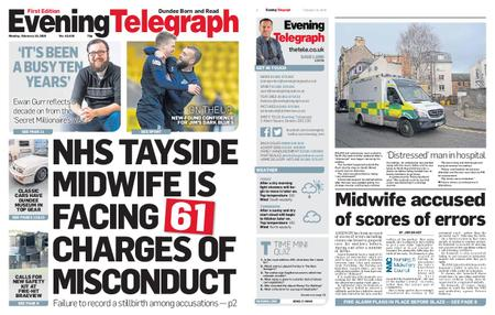 Evening Telegraph First Edition – February 18, 2019