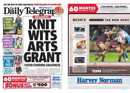 The Daily Telegraph (Sydney) – September 18, 2020