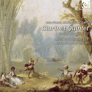 Arcanto Quartett, Jorg Widmann - W.A. Mozart: Clarinet Quintet K581 & String Quartet K421 (2013) [Official Digital Download]