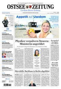 Ostsee Zeitung Wolgast - 14. August 2018