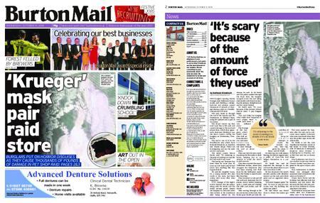 Burton Mail – October 31, 2018
