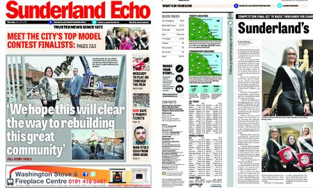 Sunderland Echo – April 25, 2019